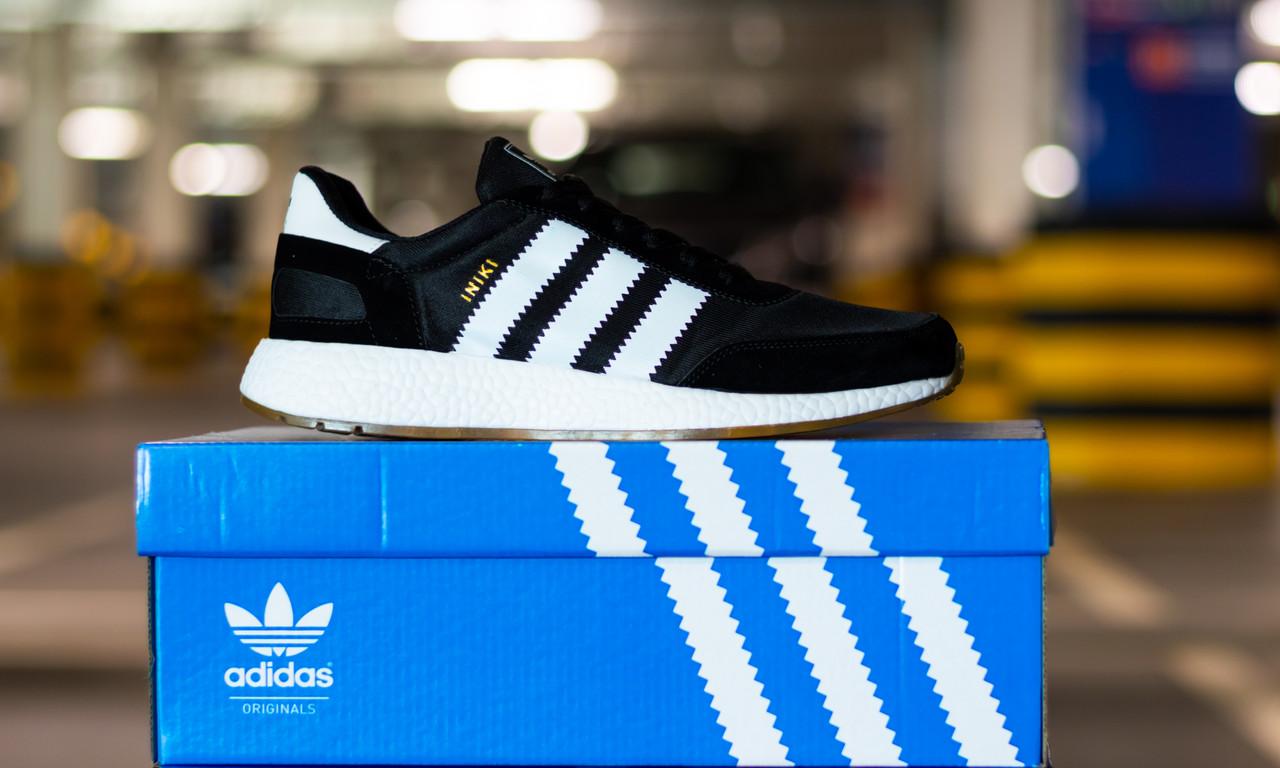 Кроссовки мужские Adidas Iniki Runner Core Black 2.0