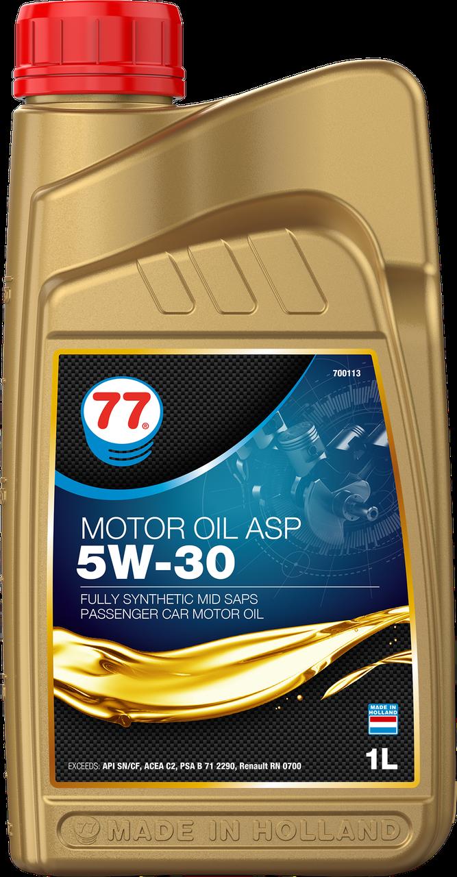 77 MOTOR OIL ASP 5W-30 (кан. 1 л)