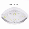 Лампа для маникюра Sun X Plus 72 Вт UV/LED / Лампа для ногтей / Лампа для гель лака, фото 3