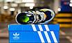 Кроссовки мужские Adidas Yung-96 Raw White Navy, фото 6
