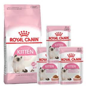 Royal Canin KITTEN 2кг3пауча 2кг  3пауча
