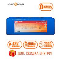 Аккумулятор для лодки Фосфатный  LP LiFePo-4 48 V - 90 Ah (BMS 80A)