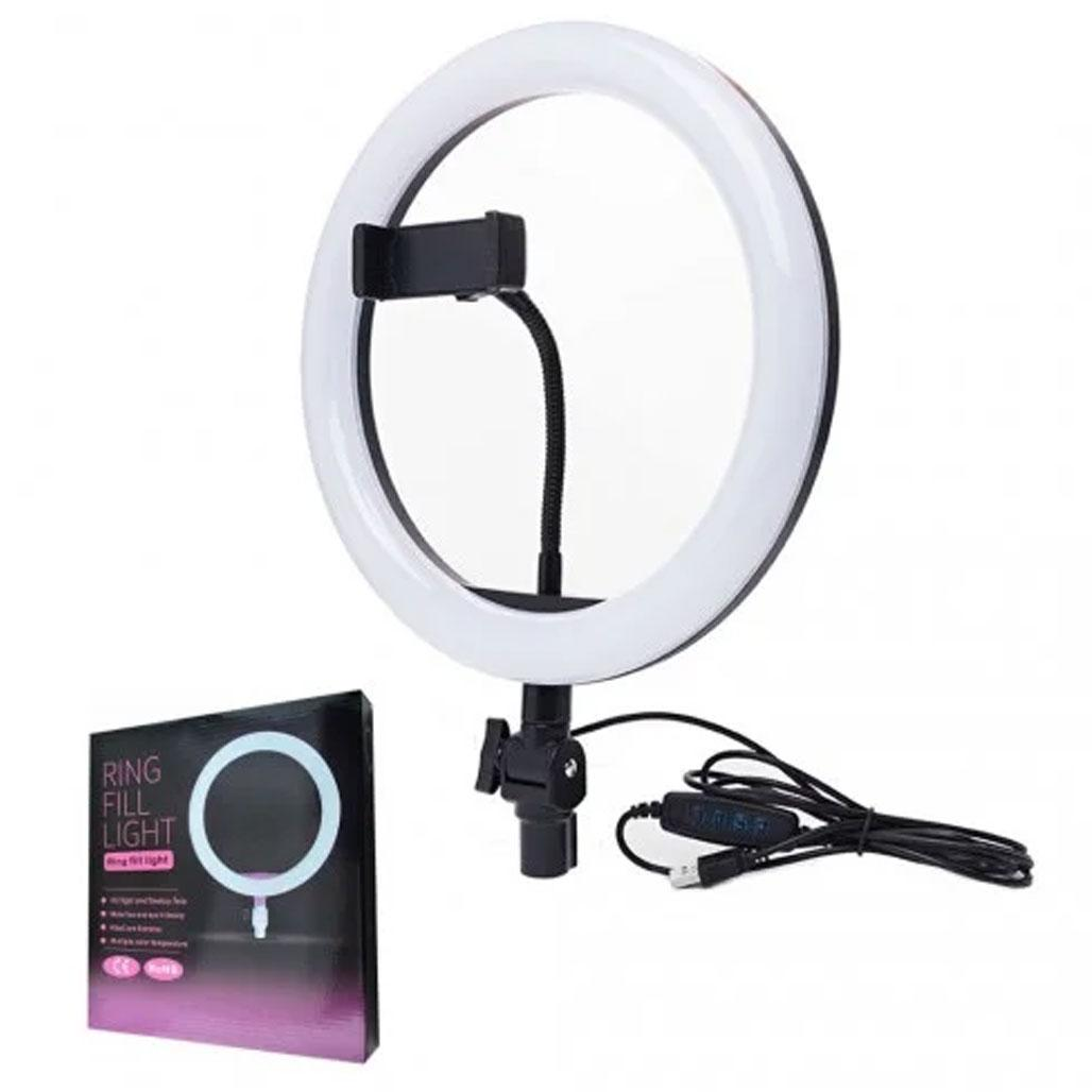 Кольцевая светодиодная лампа LED Ring 26см Fill Light