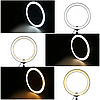 Кольцевая светодиодная лампа LED Ring 26см Fill Light, фото 10
