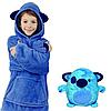 Детский плед с капюшоном и рукавами / толстовка Huggle Pets Hoodie, фото 8
