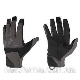 Тактические перчатки Helikon-Tex® Range Tactical Gloves Hard, Black/Shadow Grey