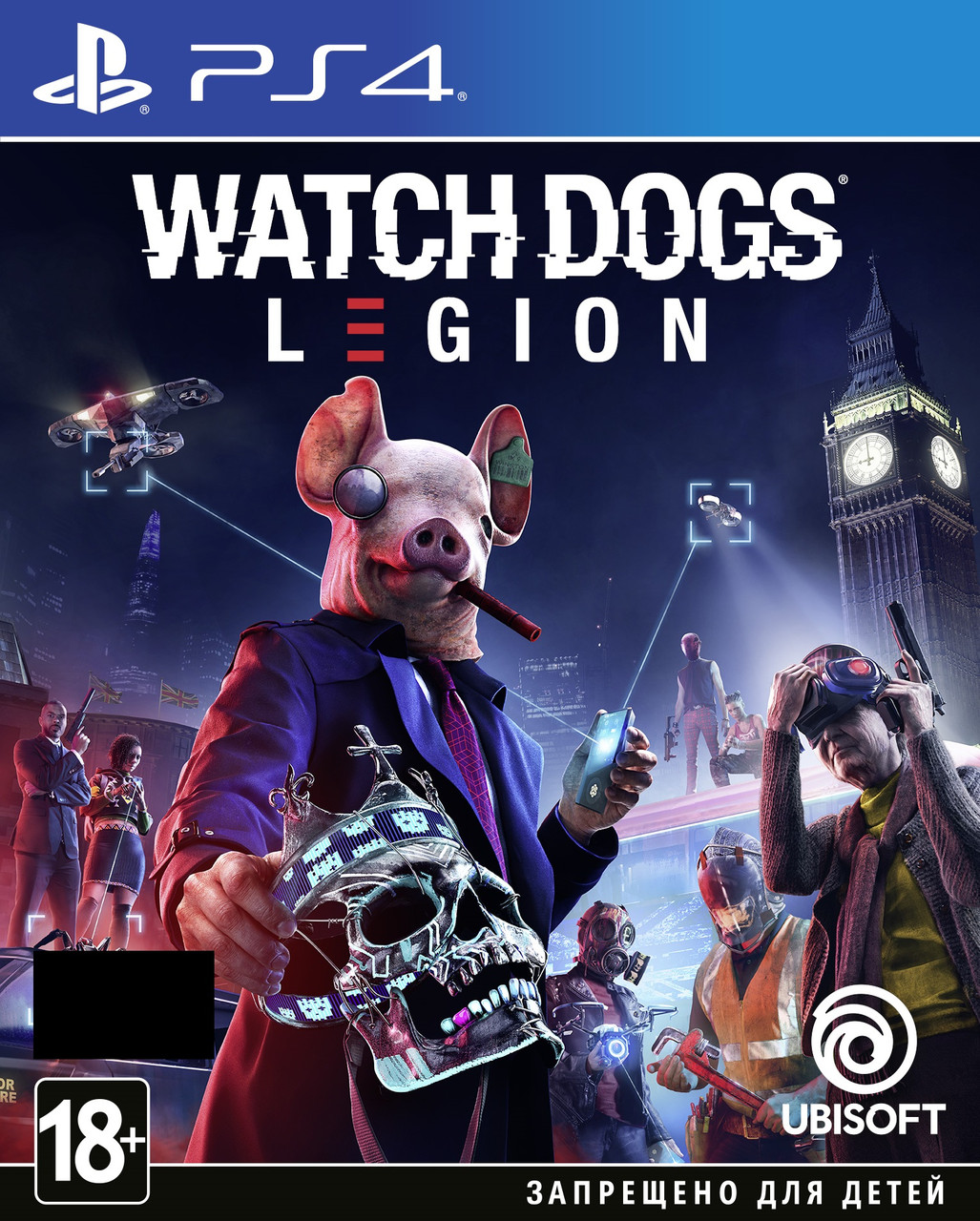 Watch Dogs Legion [Blu-Ray диск] (PlayStation) - 29.10.2020 Предзаказ