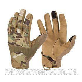 Тактические перчатки Helikon-Tex® Range Tactical Gloves Hard, Coyote/Multicam