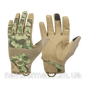 Тактические перчатки Helikon-Tex® Range Tactical Gloves Hard, Coyote/Pencott
