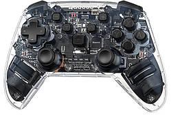 Игровой контроллер Baseus Motion Sensing SW Vibrating Gamepad, прозрачный