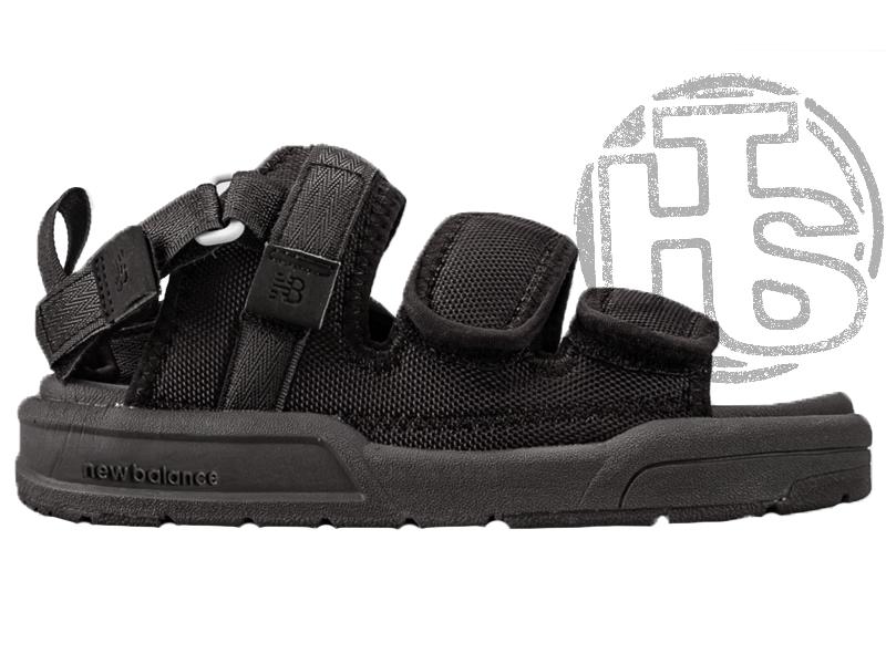 Жіночі сандалі New Balance Beach Couple Sports Sandals Total Black