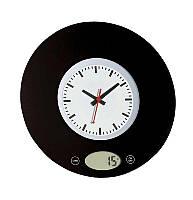 Ваги /годинник кухонні електронні MYSTERY MES-1814, чорний
