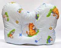 "Подушка ортопедична для немовлят (метелик) ВП-2 J2302 OLVI з малюнком «Ослик на блакитному"", фото 1"