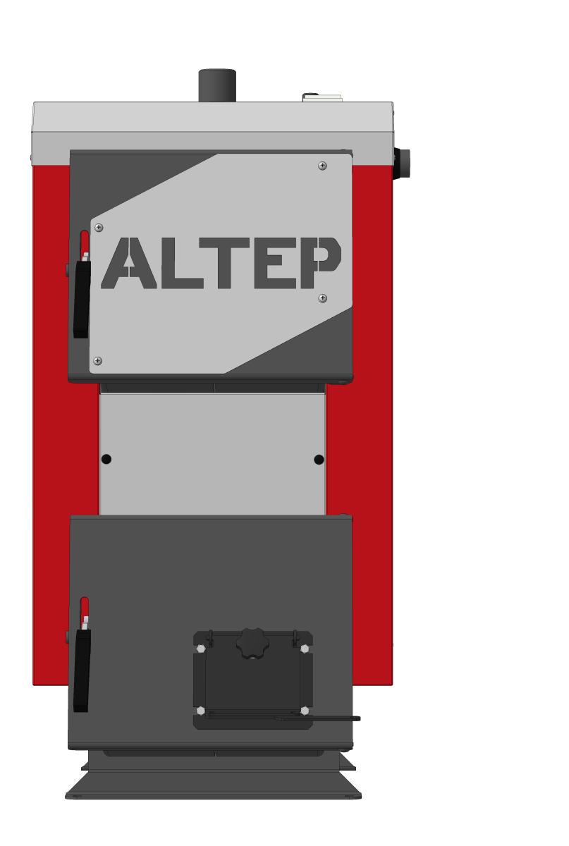 Altep Mini 12 кВт твердопаливний котел тривалість горіння при одноразової завантаженні палива до 8 годин