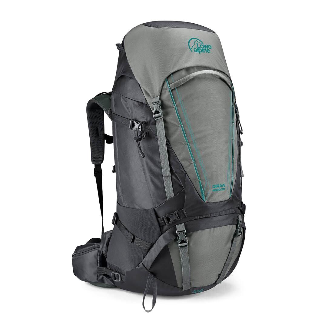 Рюкзак Lowe Alpine Diran ND 60-70 S/M Greystone/Iron Grey