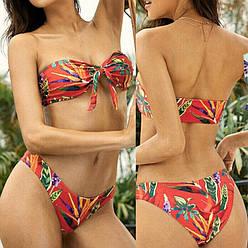 Яркий женский раздельный купальник яскравий жіночий роздільний купальник