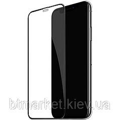 Защитное стекло Full screen PowerPlant для Apple iPhone 11 Pro, Black