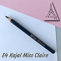 Олівець для повік кайал E433s Miss Claire Soft Kajal Eyeliner