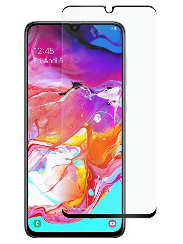 Защитное стекло Full screen PowerPlant для Samsung Galaxy A70, Galaxy A70s, Black