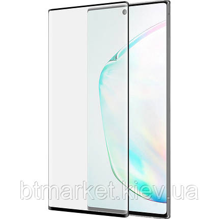 Защитное стекло 3D PowerPlant для Samsung Galaxy Note 10 Plus, Black, фото 2