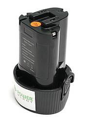 Акумулятор PowerPlant для дамських сумочок та електроінструментів MAKITA GD-MAK-10.8 10.8 V 2Ah Li-Ion