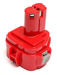 Акумулятор PowerPlant для дамських сумочок та електроінструментів MAKITA GD-MAK-12(A) 12V 2Ah NICD(1235)
