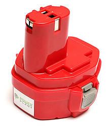 Акумулятор PowerPlant для дамських сумочок та електроінструментів MAKITA GD-MAK-14.4(A) 14.4 V 2.5 Ah NIMH