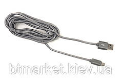 Кабель PowerPlant Quick Charge USB 2.0 AM – Micro 2м