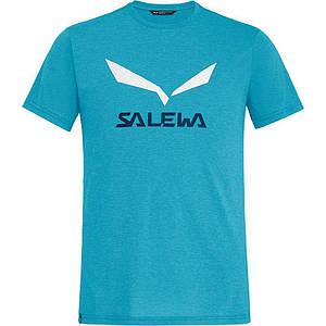 Футболка чоловіча Salewa SOLIDLOGO DRI-REL L Blue