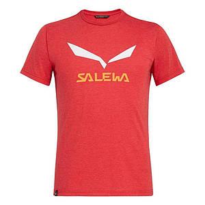 Футболка чоловіча Salewa SOLIDLOGO DRI-REL XL Red