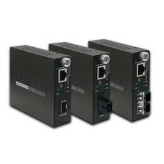 Управляемый медиаконвертер Planet GST-805A ( 10/100/1000Base-T to 1000Base-LX/SX mini-GBIC, SFP)