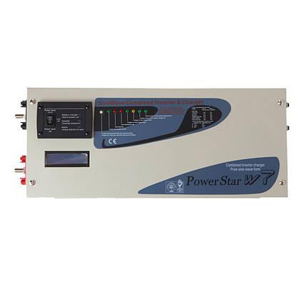 Комбинированый инвертор Sumry PSW7 1012 3000W 12V 230V 50HZ с функцией заряда аккумулятора, фото 2