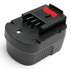 Аккумулятор PowerPlant для шуруповертов и электроинструментов BLACK&DECKER GD-BD-12(B) 12V 2Ah NICD