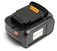 Аккумулятор PowerPlant для шуруповертов и электроинструментов DeWALT GD-DE-14.4(C) 14.4V 4Ah Li-Ion