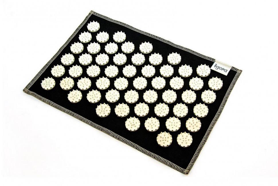 Коврики массажно-аккупунктурные AIR mini 32х21 см (белые фишки) FS-101