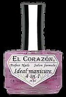 "El Corazon Лечебный лак Perfect Nails № 427 Восстановитель с хитозаном ""Ideal manicure 4 in 1"""