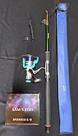 Рыболовный набор FAT CAT 2.7м + SAMS FISH 5000мм/м