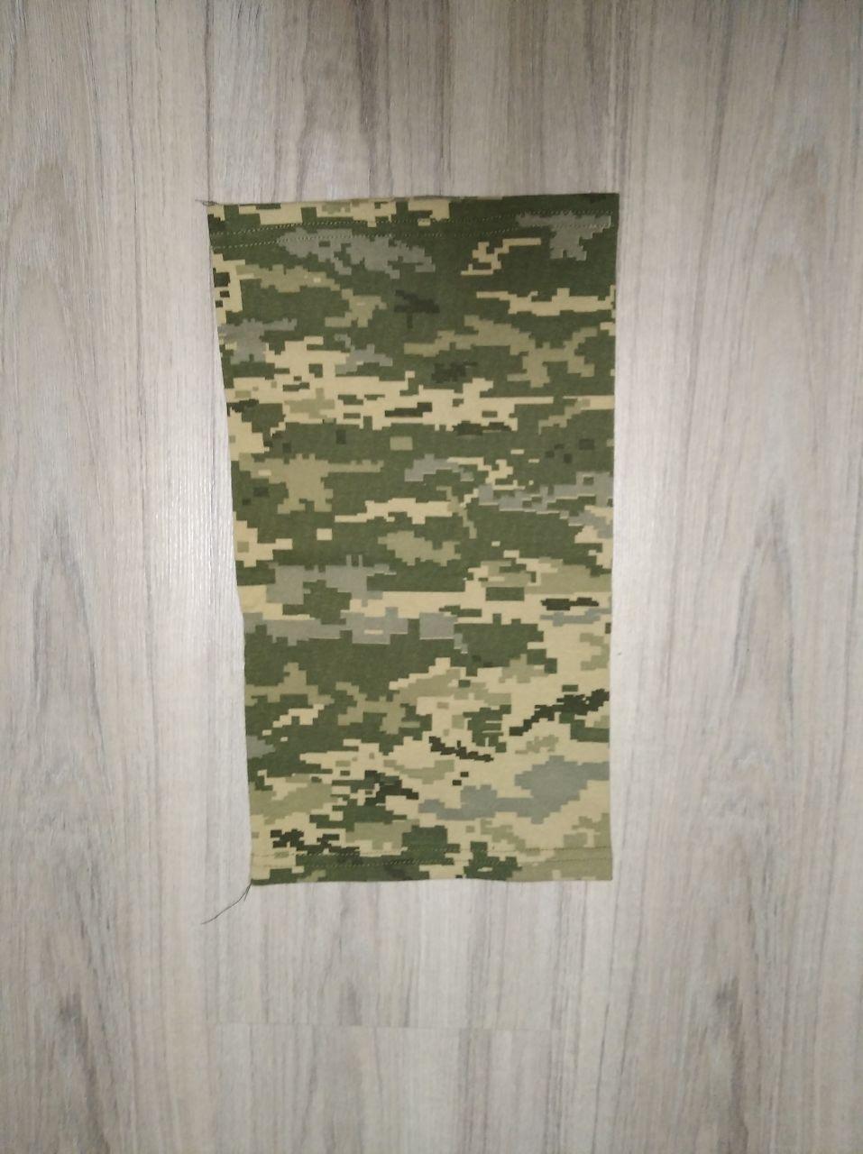 Військовий тонкий бафф/горловик (піксель)
