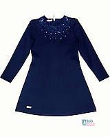 Детское школьное платье синее Suzie.