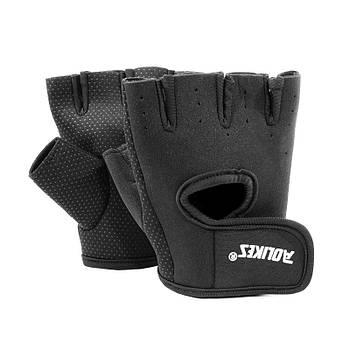 Перчатки для фитнеса и спорта AOLIKES A-1678 Black S
