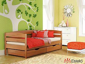 Кровать с ящиками детская Нота Плюс 80х190, 105, Щит Л4