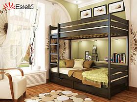 Двухєтажная кровать Дует широкая 90х190 для детской комнаты, 106, Щит 2Л4