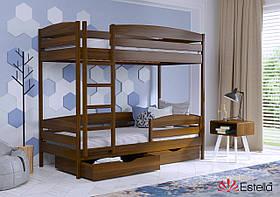 Двухъярусная кровать для детей Дует Плюс 80х190, 103, буковая 2Л4
