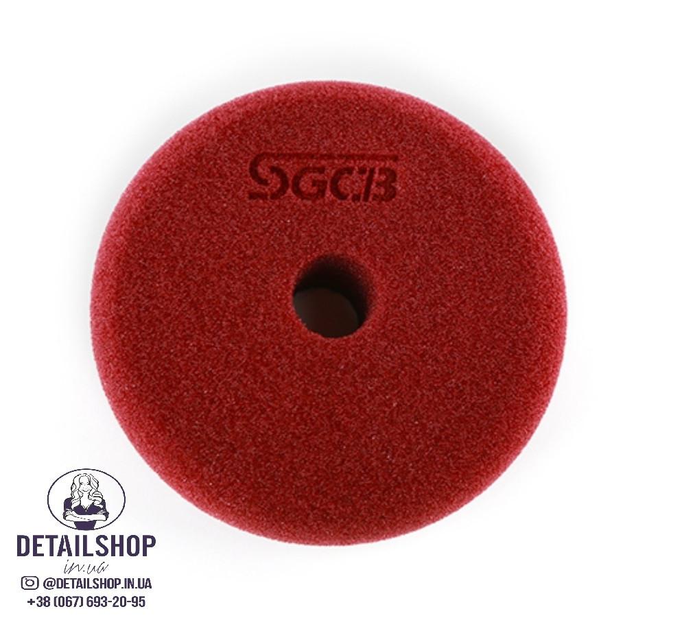 SGCB RO/DA Foam Pad Полировальный круг средней твердости бордовый 75/85 ММ