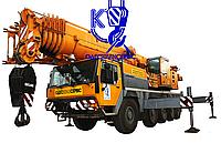 Услуги спецтехники- Автокран LIEBHERR LTM 1100