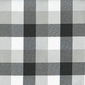 Ткань для мебели, мебельного цвета жаккард в клетку Эдинбург (Edinburgh) бело-серого цвета