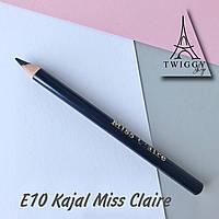 Олівець для повік кайал E10 Miss Claire Soft Kajal Eyeliner