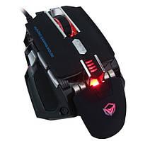 Мышь проводная игровая MEETION Backlit Gaming Mouse RGB MT-M975, черная