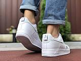 Чоловічі кросівки Nike Air Force 1 білі, фото 2