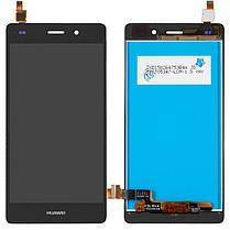 Модуль (сенсор + дисплей) Huawei P8 Lite (ALE L21) чорний, фото 2